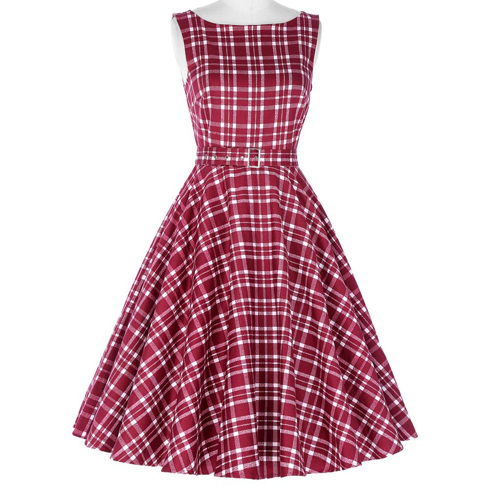 Vestido pin-up ideal para bailar swing. Varios modelos y colores ...