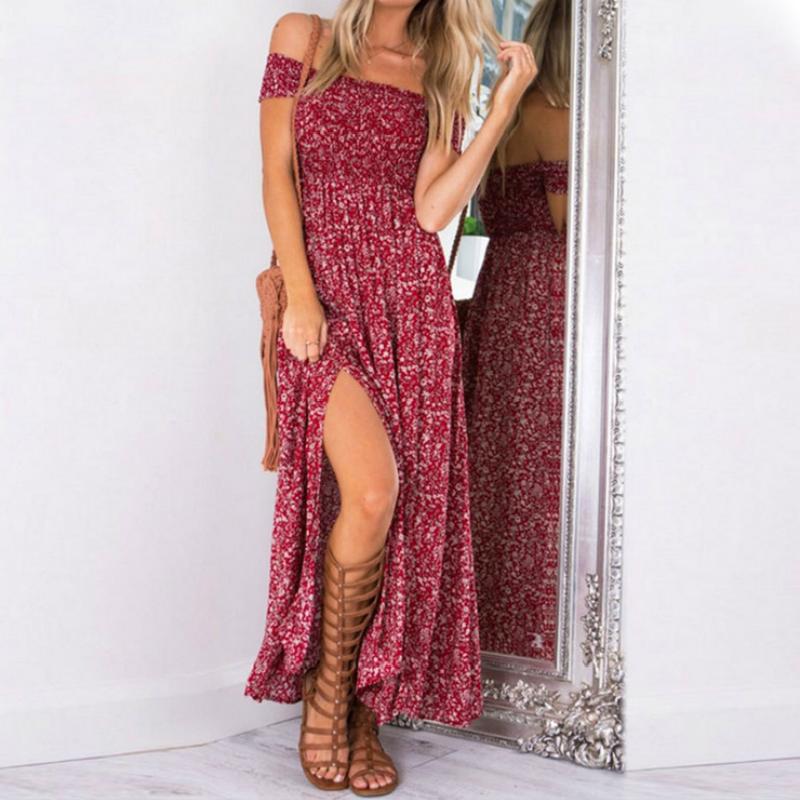 vestido largo verano mujer