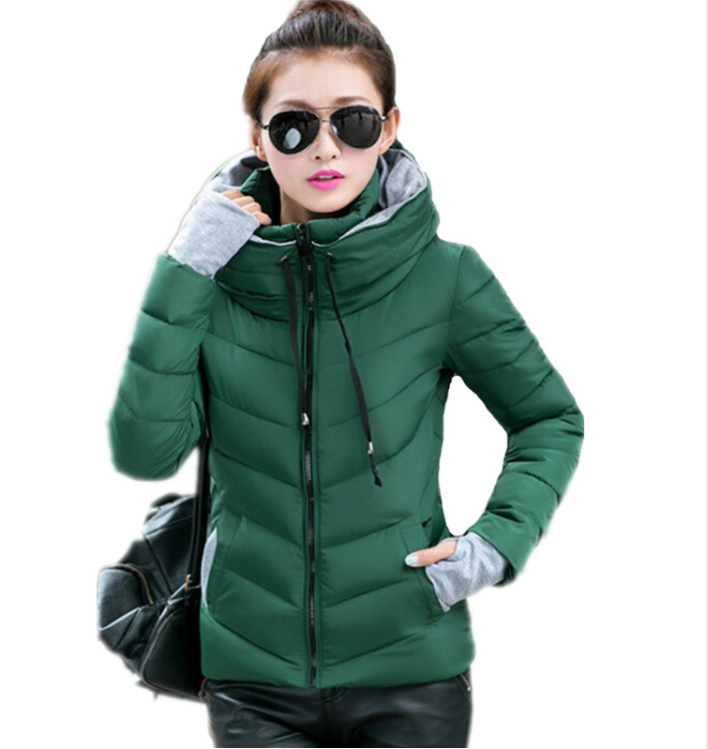 chaqueta acolchada mujer