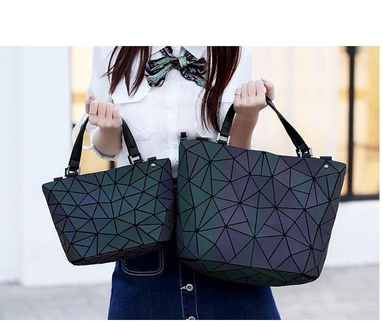 bolsos grande pequeño geometricos