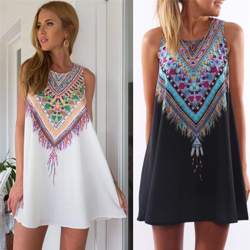 vestido tunica playa verano mujer