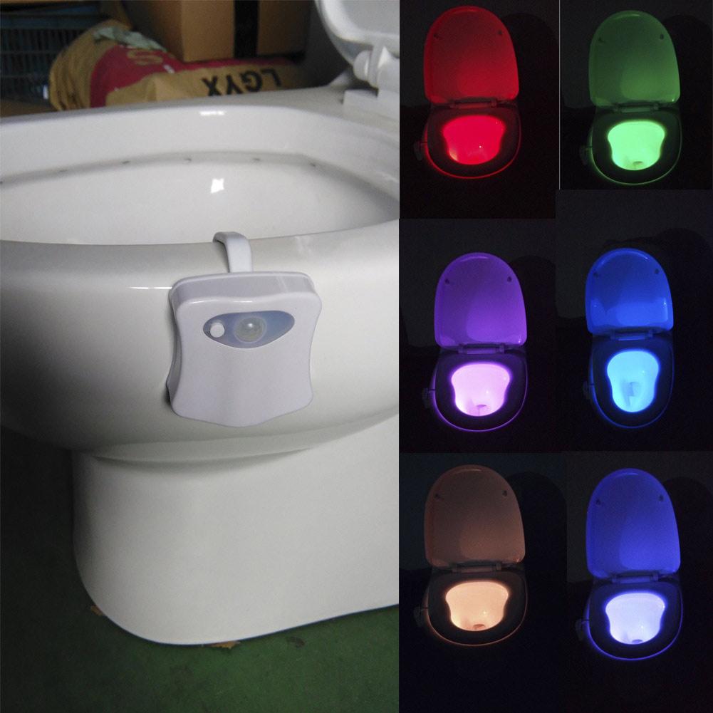 iluminación baño de color