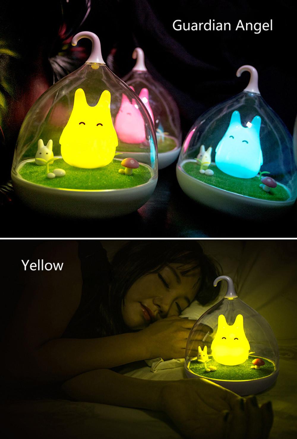 lampara de noche totoro