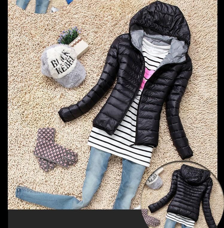 chaqueta mujer acolchado