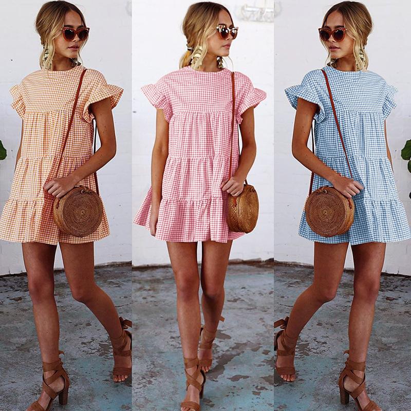 vestido playa verano casual
