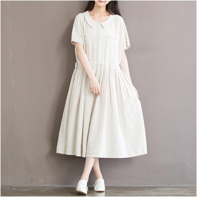 vestido en lino verano