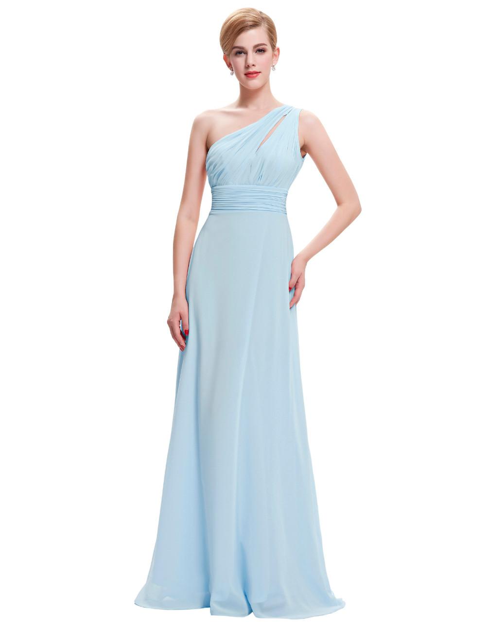 vestido largo bodas drapeado