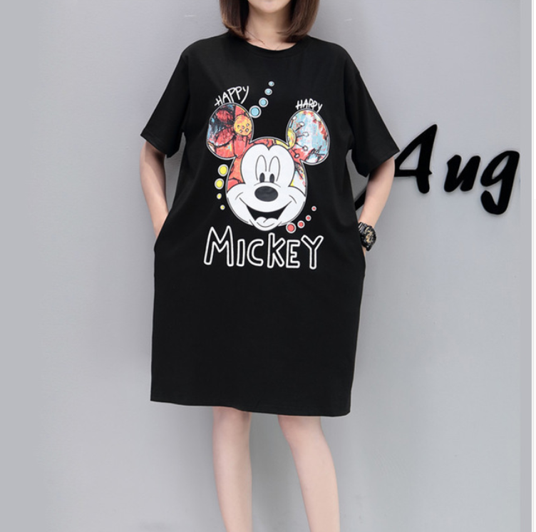 Camiseta larga para mujer con varios estampados - Gangas Go b4bd583c73f39