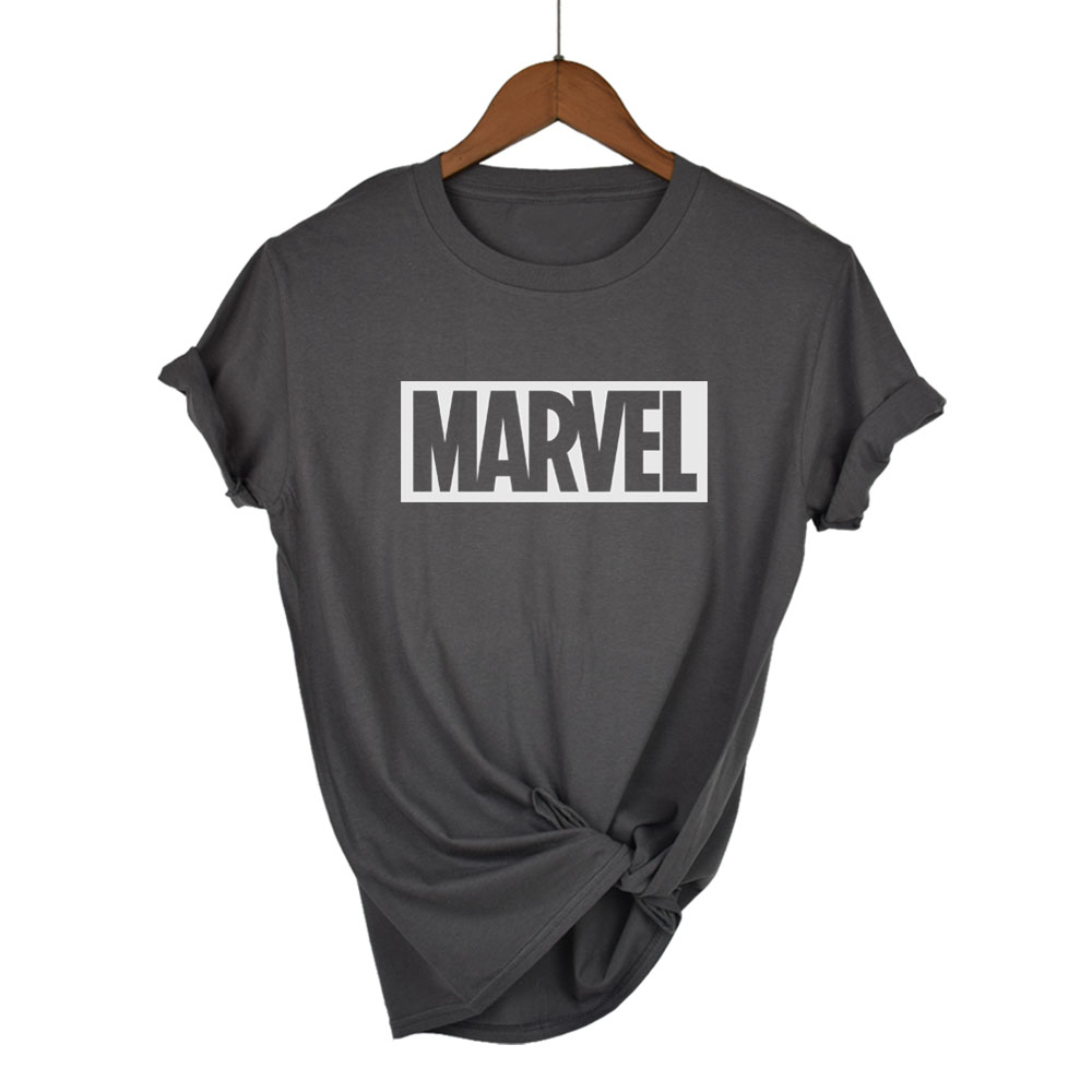 camiseta universo marvel