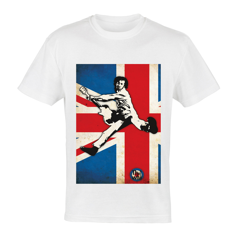 camiseta cantante the who