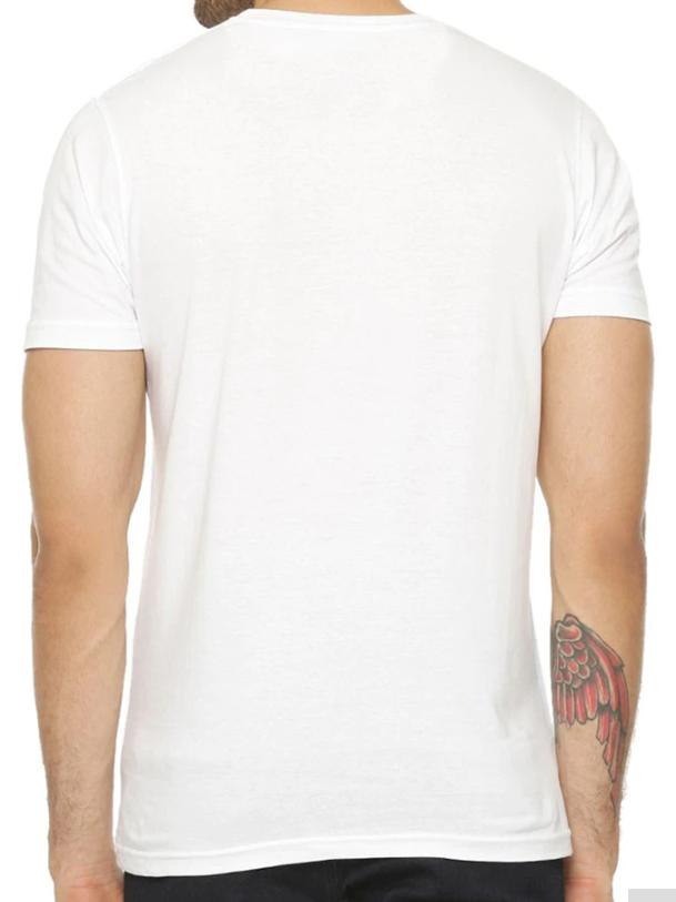 camiseta por detras de black sabbath