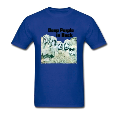 camiseta deep purple