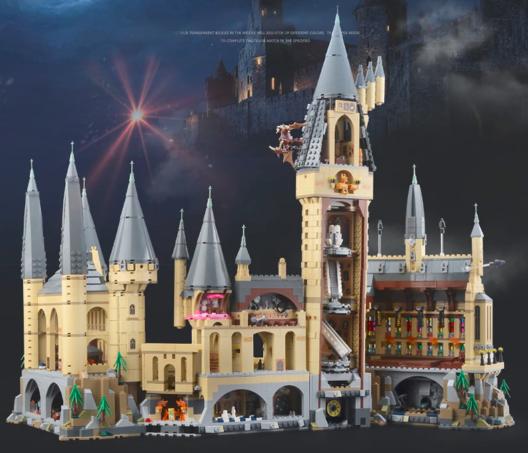 castillo lego escuela hogwarts