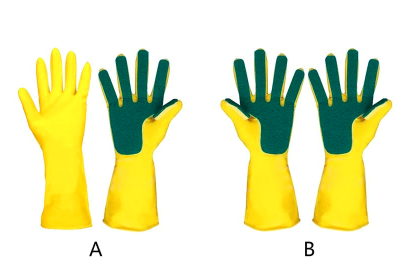 guantes latex fregar