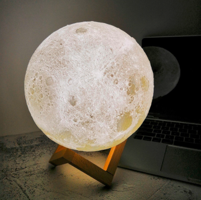lampara led luna