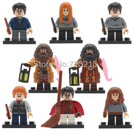 muñecos lego harry potter
