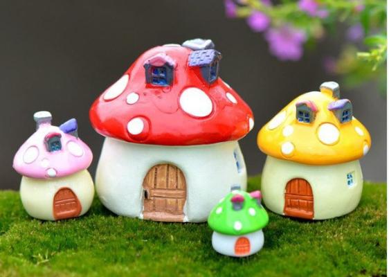 setas casa en miniatura