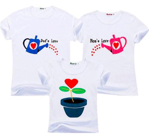 camiseta a juego para familia aliexpress