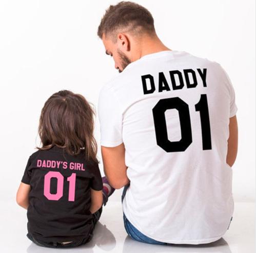 camiseta padre e hija aliexpress