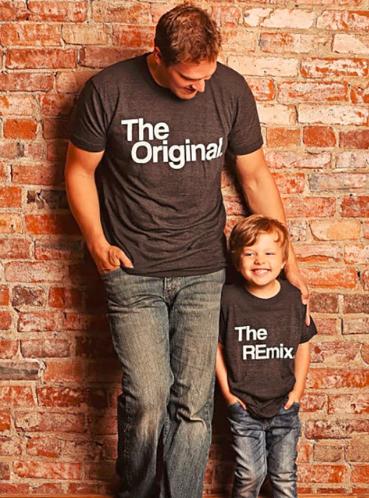 camiseta padre e hijo alipexress baratas
