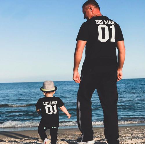 camiseta padre e hijo