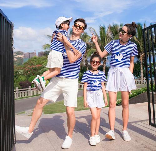 conjunto de verano para familia barato