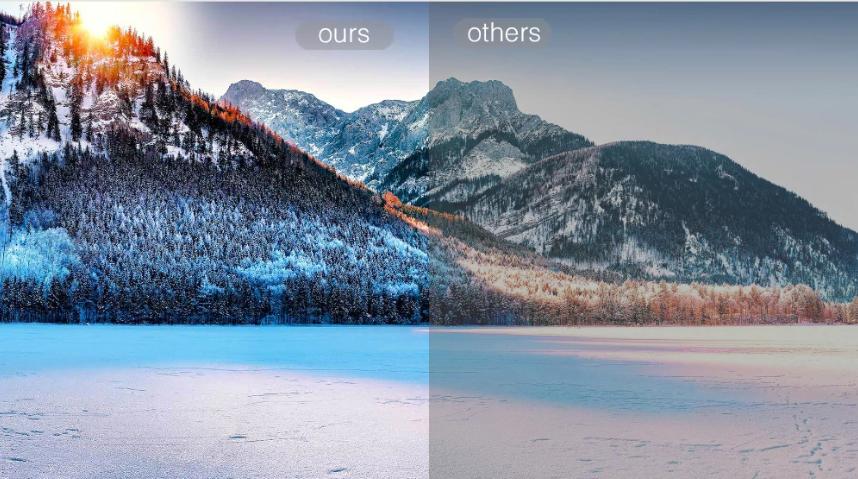 diferencia de calidad segun el proyector