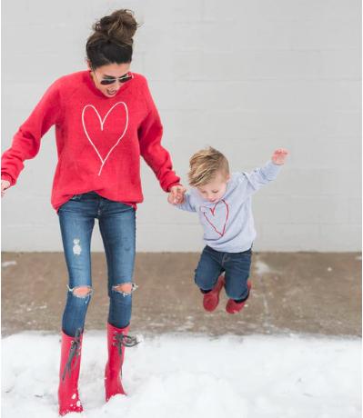 ropa a juego madre e hijo