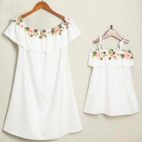 vestido blanco verano madre e hija