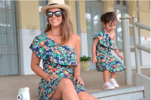 vestidos a juego madre e hija aliexpress